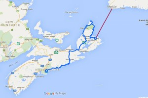 Route Nova Scotia