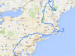 Route New England