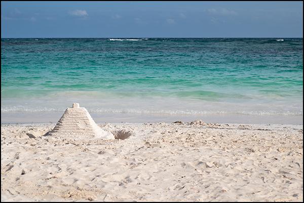 Pyramide in der Karibik